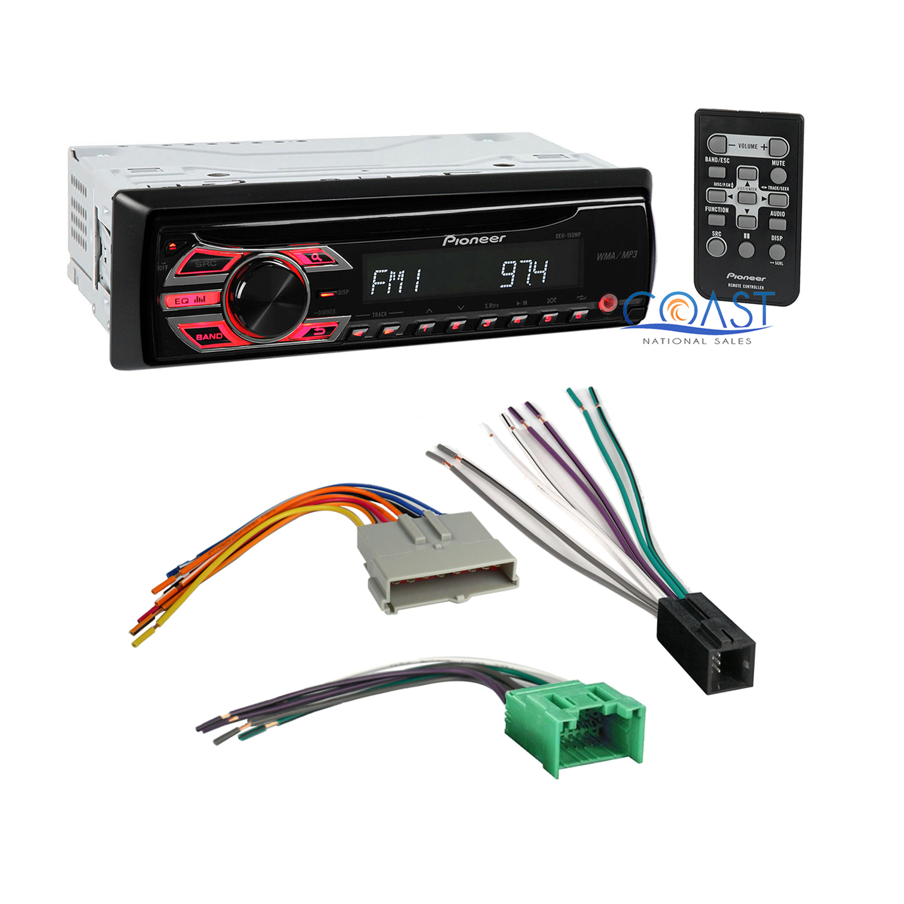 hight resolution of details about pioneer car radio stereo wire harness for ford lincoln mercury mazda deh 150mp