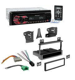 pioneer car radio stereo dash kit wire harness for ford pioneer deh wire harness colors pioneer deh 3300ub wiring harness [ 2049 x 2049 Pixel ]