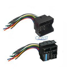 car radio stereo installation wire wiring harness combo set for 1994 2002 bmw [ 2400 x 2400 Pixel ]