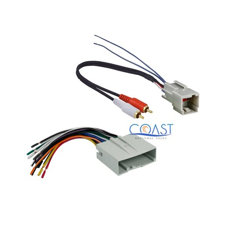 small resolution of aftermarket radio amplifier wiring harness for 2003 up ford lincoln mercury