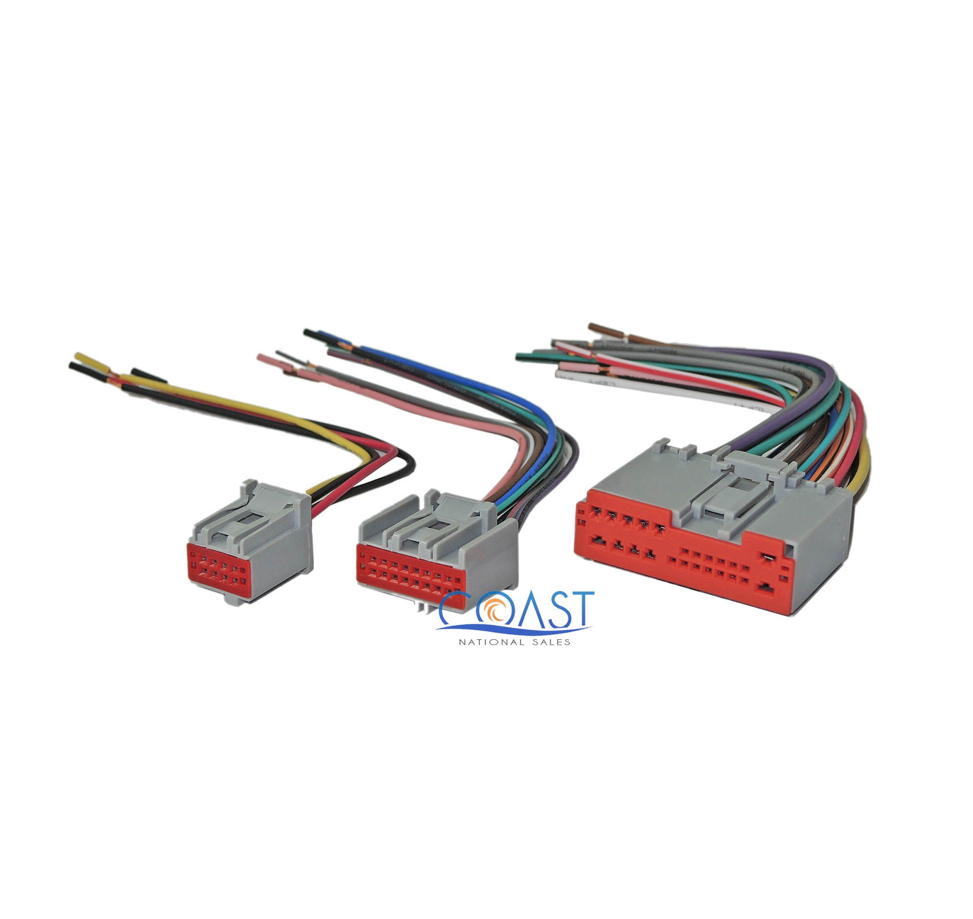 hight resolution of car stereo radio wiring harness plugs to factory radio for ford lincoln mercury