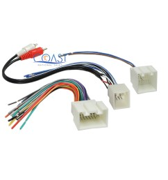 car radio stereo amp wiring harness with rca for 1998 2005 ford lincoln mercury specifications [ 1677 x 1677 Pixel ]