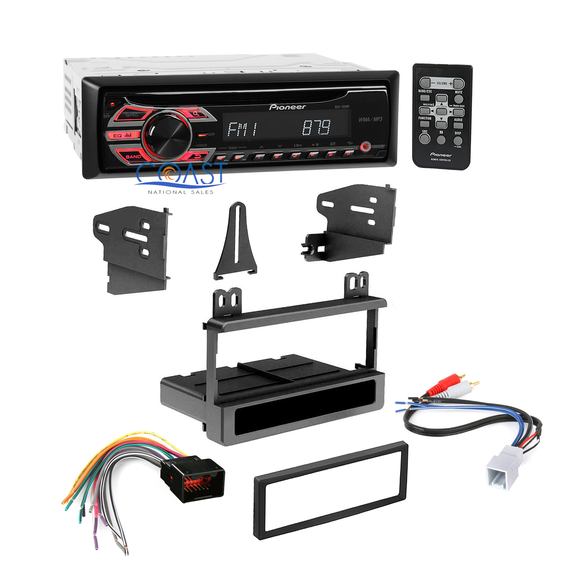 hight resolution of pioneer car radio stereo dash kit wire harness for 1998 08 ford lincoln mercury specifications