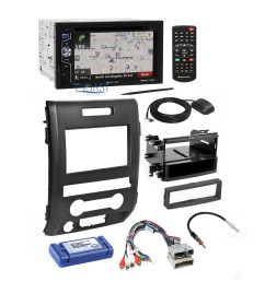 planet audio radio stereo dash kit wire harness interface for 09 12 ford f 150 [ 1836 x 1836 Pixel ]