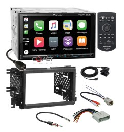 details about pioneer carplay sirius bt gps stereo dash kit harness for ford lincoln mercury [ 1600 x 1600 Pixel ]