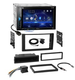 details about pioneer 2018 dvd 2din stereo dash kit harness for 2010 11 ford transit connect [ 2292 x 2292 Pixel ]