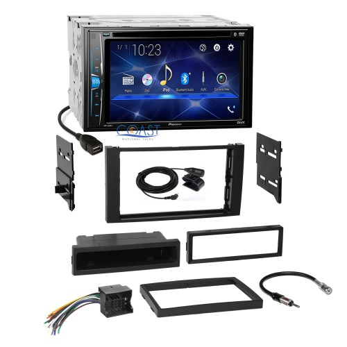 small resolution of details about pioneer 2018 dvd 2din stereo dash kit harness for 2010 11 ford transit connect