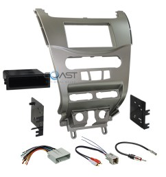 ford focus wiring harness kits wiring diagram car radio stereo silver dash kit panel wire harness [ 2250 x 2250 Pixel ]