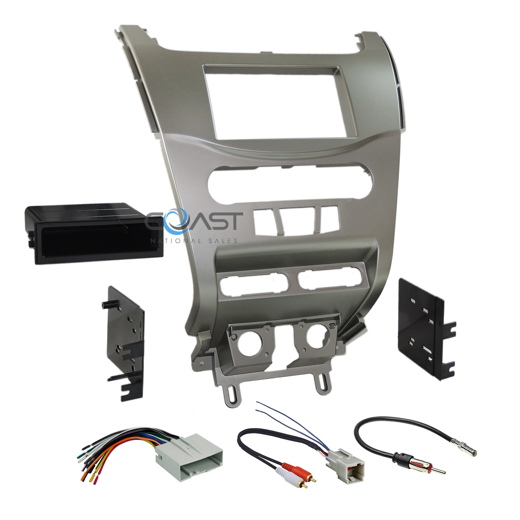 hight resolution of ford focus wiring harness kits wiring diagram car radio stereo silver dash kit panel wire harness
