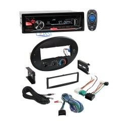 Jvc Wiring Diagrams Car Audio Trailer Wire Diagram 7 Way Radio Stereo Dash Kit Harness For 96 99 Ford