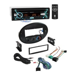 Sony Bluetooth Car Stereo Wiring Diagram Telescope Optics Ray Radio Dash Kit Harness For 1996 1999 Ford