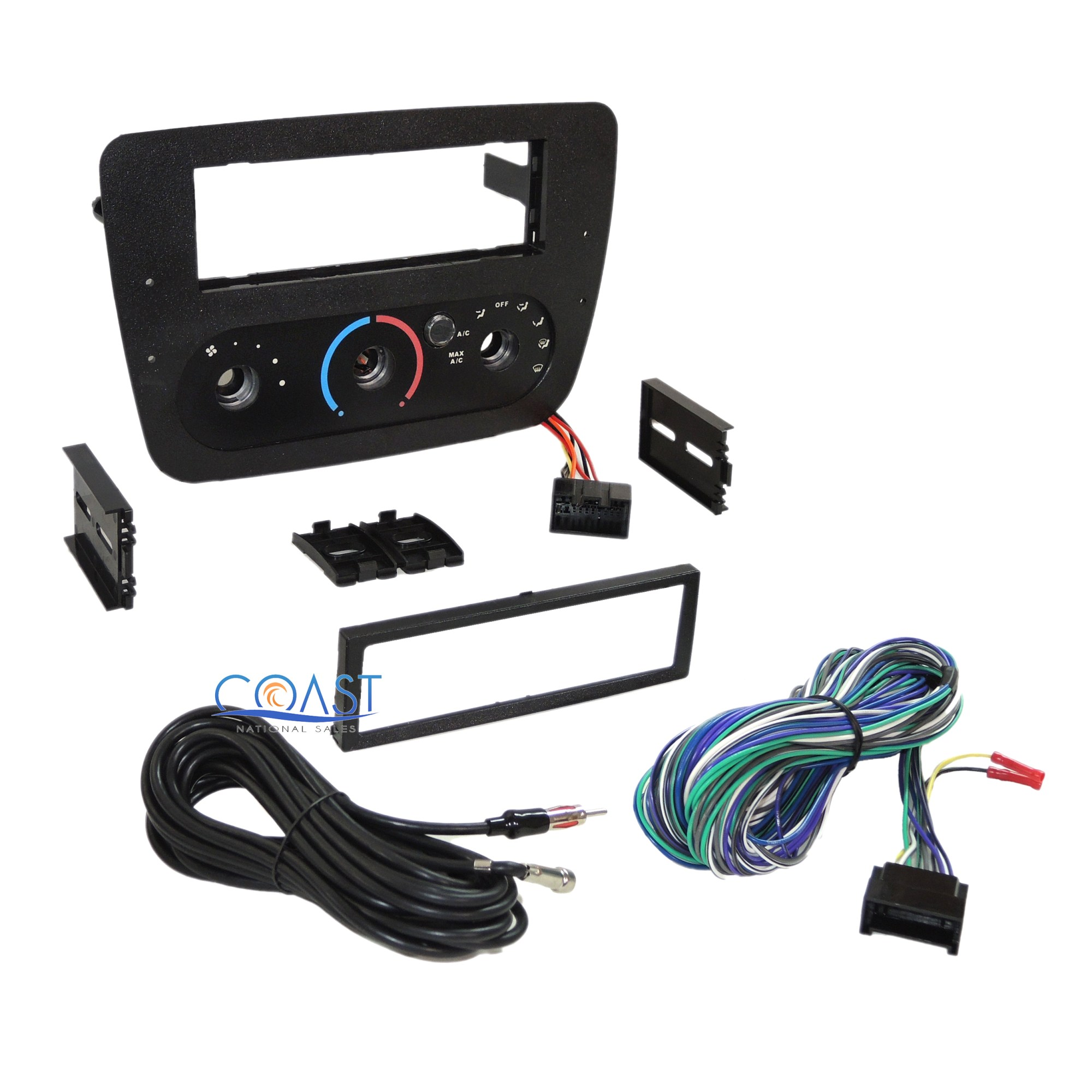 hight resolution of car radio stereo dash kit bezel harness for 2000 2007 ford harness ford wiring kits67cougarxr7 trailer wiring harness kit