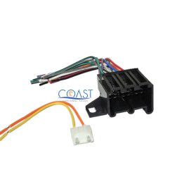 car radio stereo wire harness for 1973 up chevrolet buick cadillac gmc pontiac [ 2400 x 2050 Pixel ]