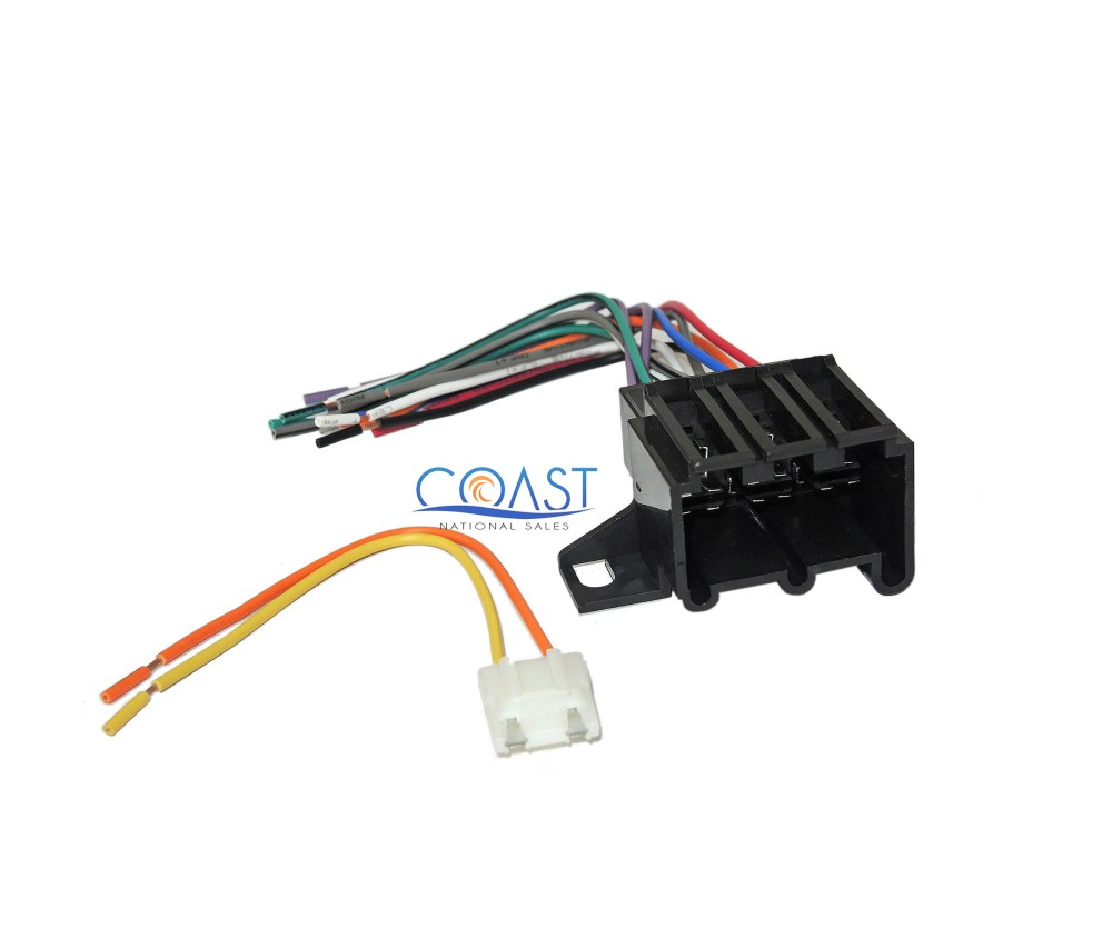 medium resolution of car radio stereo wire harness for 1973 up chevrolet buick cadillac gmc pontiac