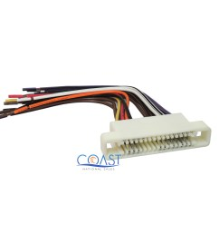 car radio stereo wiring harness for 2000 2005 buick lesabre pontiac bonneville [ 2400 x 2050 Pixel ]
