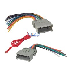 details about gm car radio stereo wire wiring harness combo for 1992 up chevy gmc pontiac [ 2304 x 2304 Pixel ]