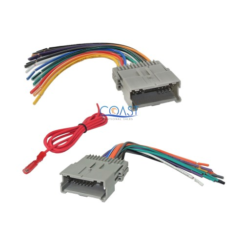 small resolution of details about gm car radio stereo wire wiring harness combo for 1992 up chevy gmc pontiac