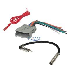 car radio stereo wire harness antenna combo for 1992 up gm chevy isuzu pontiac [ 2250 x 2250 Pixel ]