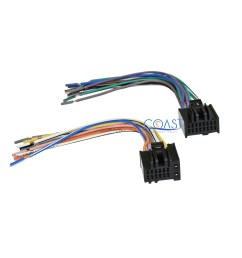 car radio stereo wire wiring harness to factory radio for gm radio wiring harness adapter gm [ 1800 x 1800 Pixel ]