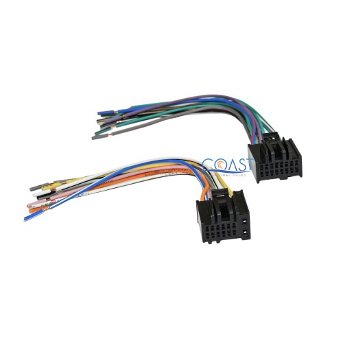 small resolution of car radio stereo wire wiring harness to factory radio for gm radio wiring harness adapter gm