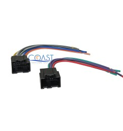 details about stereo wire harness plugs into factory harness for 2007 2011 chevrolet aveo [ 2400 x 2202 Pixel ]