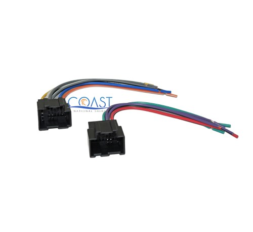 small resolution of details about stereo wire harness plugs into factory harness for 2007 2011 chevrolet aveo
