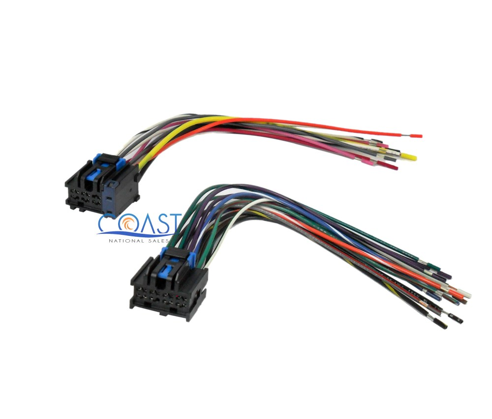 medium resolution of car stereo wiring harness plugs into factory radio for 1996 up saturn ion vue
