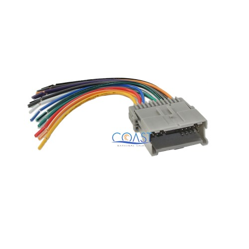 small resolution of car radio stereo wire harness for select 1998 up chevy gmc kia toyota hyundai