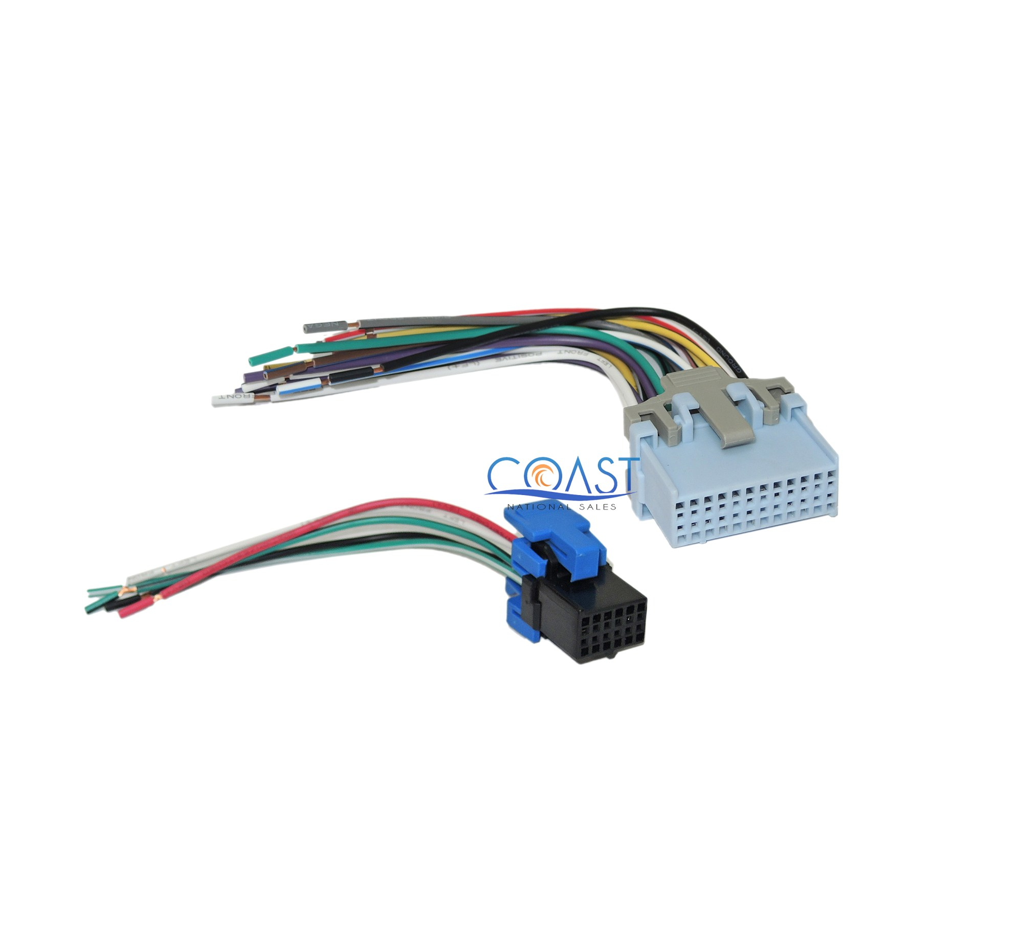 hight resolution of reverse wiring harness to factory radio for select 20042007 chevrolet