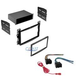 car radio stereo dash kit w wiring harness for 2004 2010 chevy pontiac saturn [ 1588 x 1588 Pixel ]