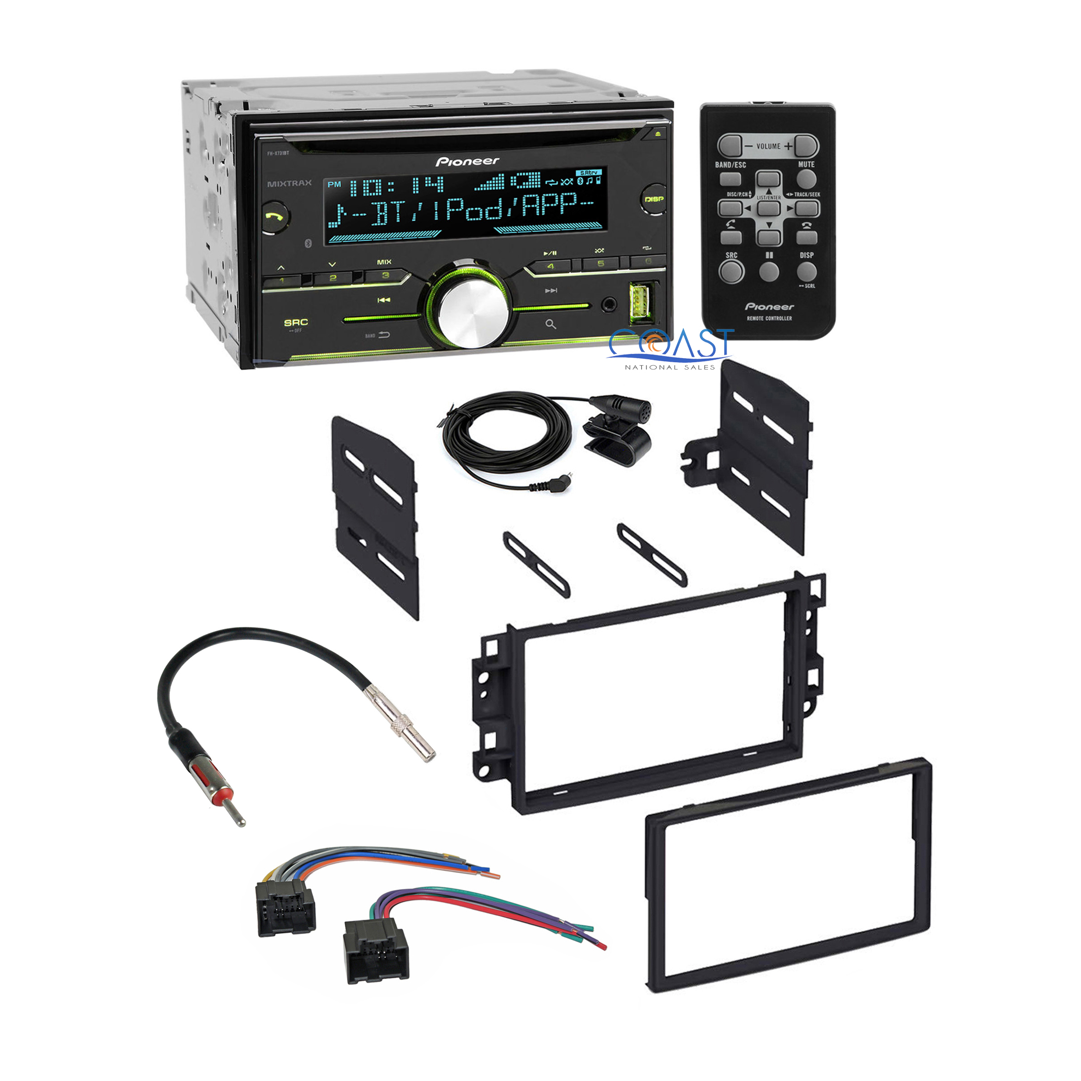 pioneer wiring remote alpine cda 9827 diagram bluetooth car stereo 43 dash kit wire harness for