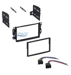 single double din car stereo dash kit with harness for 2007 2011 chevrolet aveo [ 1728 x 1728 Pixel ]