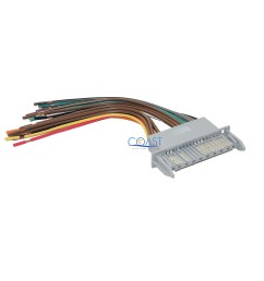 car radio stereo wiring harness for 2000 2005 buick lesabre pontiac bonneville [ 2840 x 2840 Pixel ]