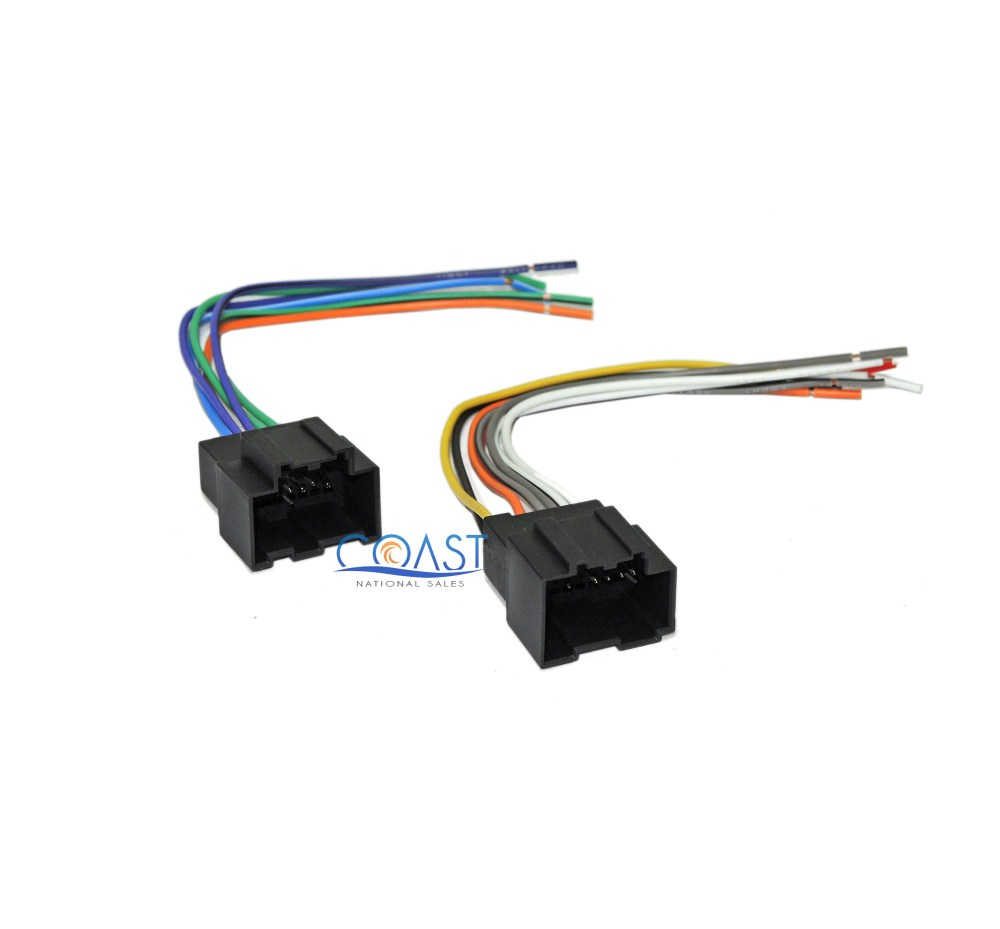 medium resolution of car stereo harness plugs into factory harness for 2006 2007 saturn ion vue