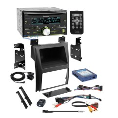 Pioneer Wiring Remote Inside A Computer Tower Diagram Car Stereo Dash Kit Bose Harness For 2007