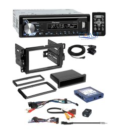 pioneer usb bluetooth stereo gm dash kit onstar bose steering adapter harness [ 1908 x 1908 Pixel ]