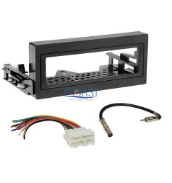 car radio stereo install dash kit wire harness for 1995 up gmc chevy cadillac [ 1656 x 1656 Pixel ]