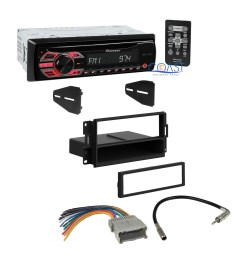 pioneer car radio stereo dash kit wire harness for 2004 08 pontiacdetails about pioneer car radio [ 2118 x 2118 Pixel ]
