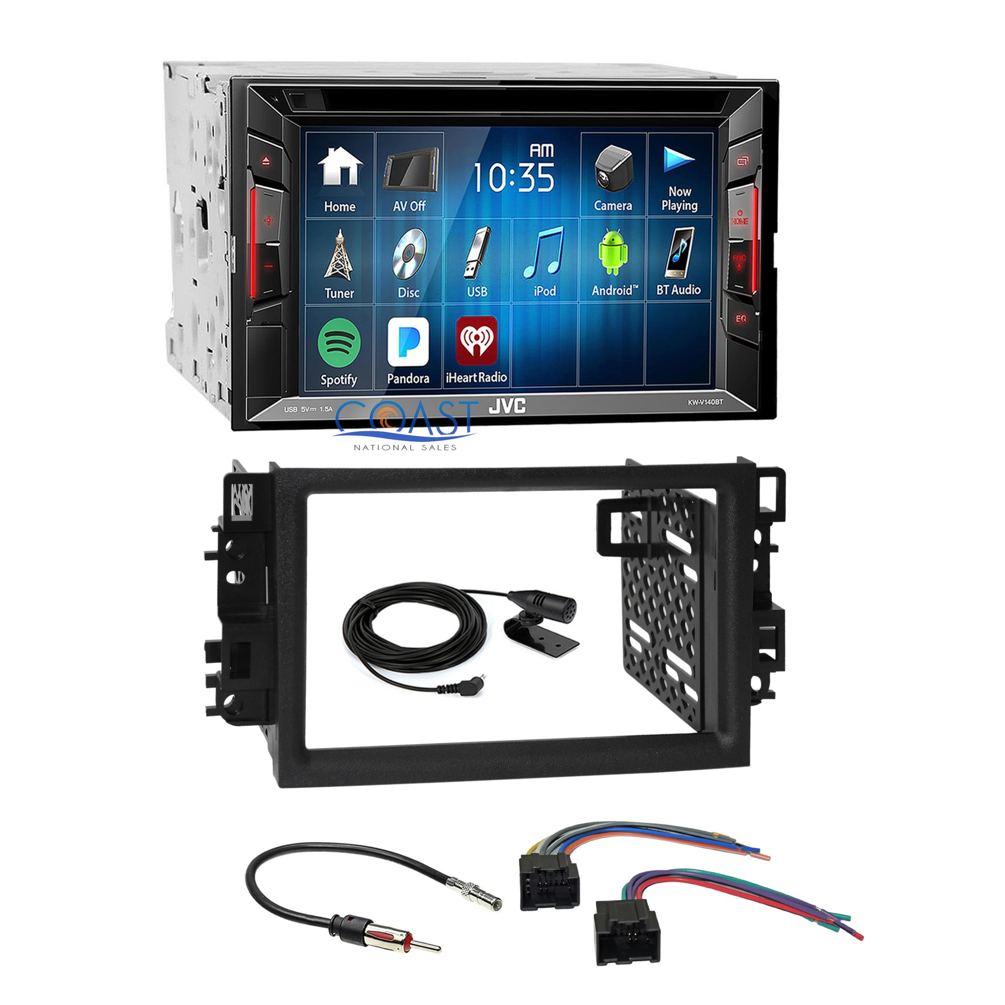 hight resolution of jvc 2018 dvd bluetooth 2 din dash kit wire harness for 2007 2011 vehicle car dvd gps wire wiring harness set for chevrolet lova