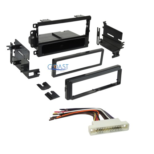 small resolution of car stereo dash kit wire harness for 2000 2005 buick lesabre pontiac bonneville