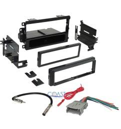 car radio stereo dash kit harness antenna for gm gmc chevy cadillac pontiac [ 2019 x 2019 Pixel ]