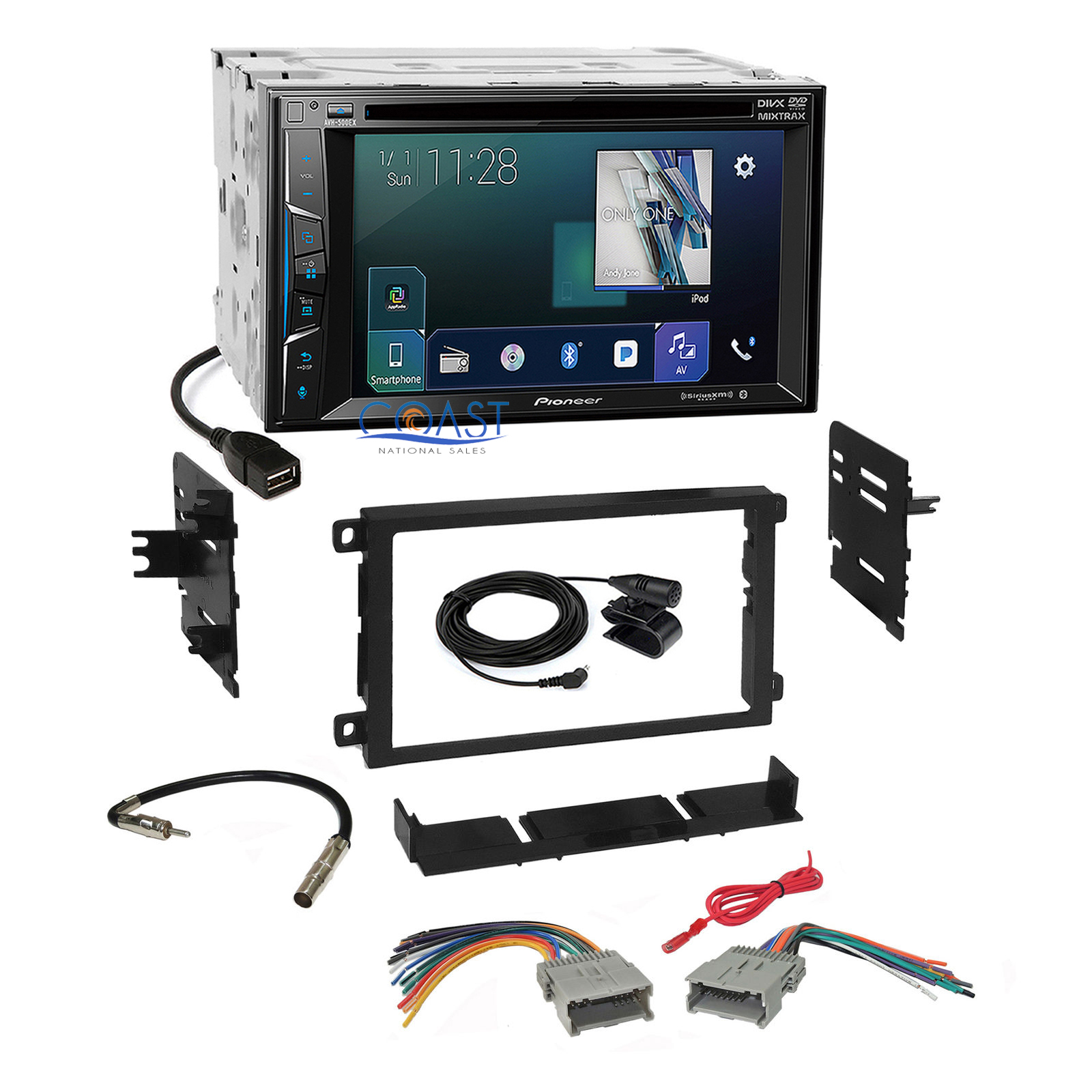 hight resolution of details about pioneer sirius appradio stereo dash kit harness for 1992 chevrolet gmc pontiac