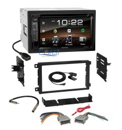 details about kenwood dvd bluetooth sirius stereo dash kit harness for 92 chevy gmc pontiac [ 2400 x 2400 Pixel ]
