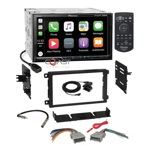 small resolution of pioneer 2018 spotify carplay stereo dash kit harness for 92 chevy gmc pontiac