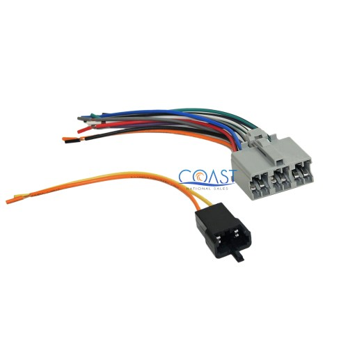 small resolution of details about plug into factory radio car stereo wire wiring harness for early gm 71 1677 1