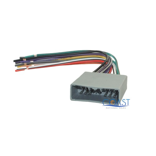 small resolution of metra aftermarket radio stereo wire harness plug for 2006 up honda honda wiring harness plugs