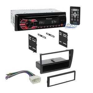 Pioneer Car Radio Stereo Install DIN Dash Kit Harness for