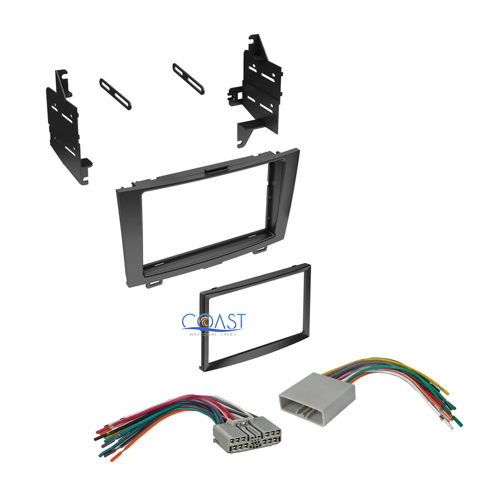 hight resolution of double din car stereo dash kit wiring harness for 2007 car audio wiring diagrams honda cr v