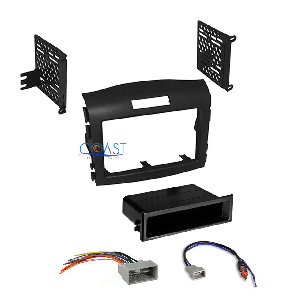 medium resolution of car radio stereo install dash kit wiring harness for 2012 2016 honda cr v crv