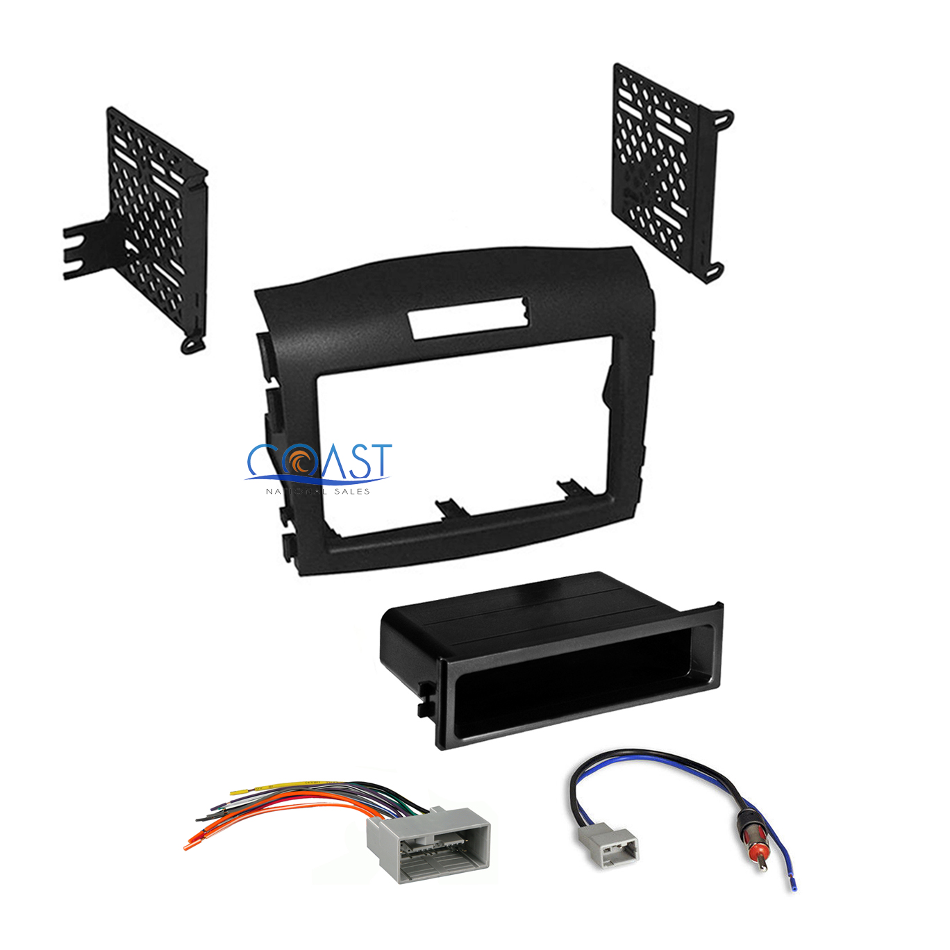 hight resolution of car radio stereo install dash kit wiring harness for 2012 2016 honda cr v crv